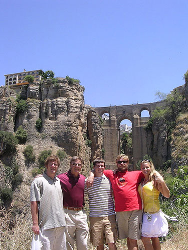 self guided walking tours andalucia